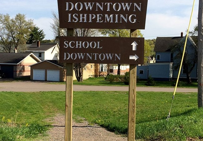 Post & Panel Signs | Government and Municipal Signs | Ishpeming | Custom Directional sign