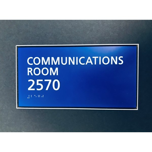 ADA Compliant Braille Signs
