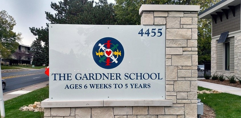 Updated monuments for The Gardner School