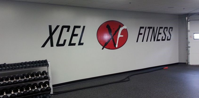 Full color wall graphics