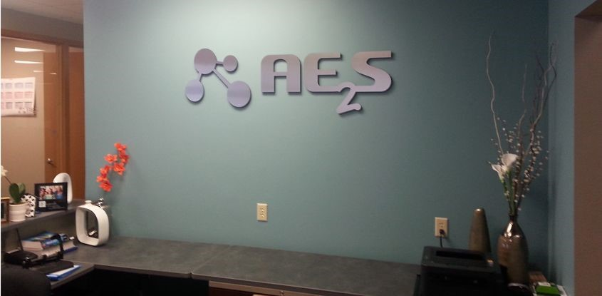 Brushed Metal Logo for AE2S