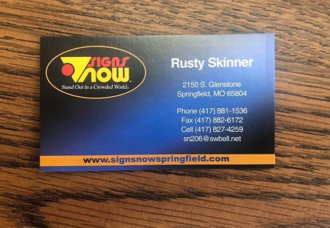 Business Cards | Advertising & Marketing Agency Signs