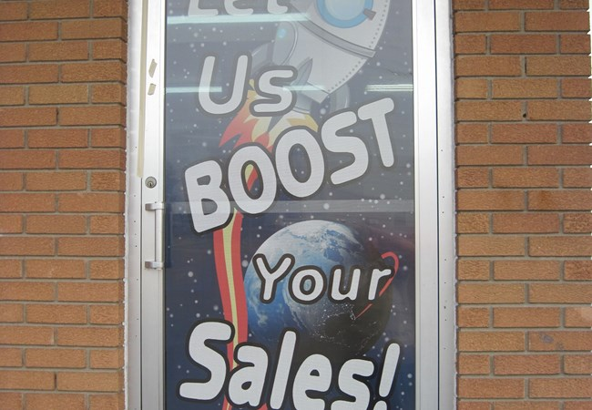 Custom Window Graphics | Window Graphics | Advertising & Marketing Agency Signs | Gladstone, MO