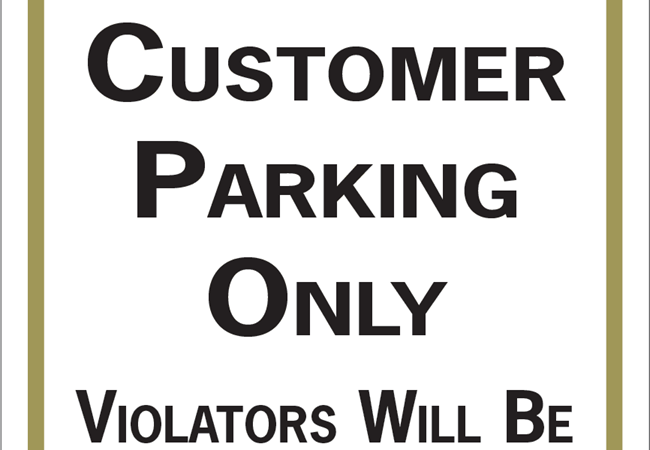 Parking & Traffic Signs | Aluminum Signs | Entertainment & Club Signs | Kansas City, MO