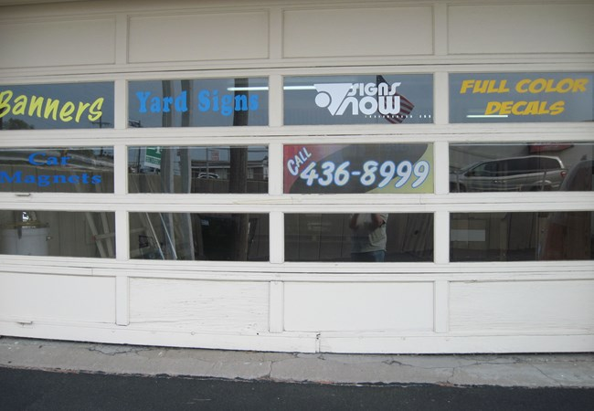 Window Graphics | Vinyl Lettering | Advertising & Marketing Agency Signs | Gladstone, MO | Window Decals