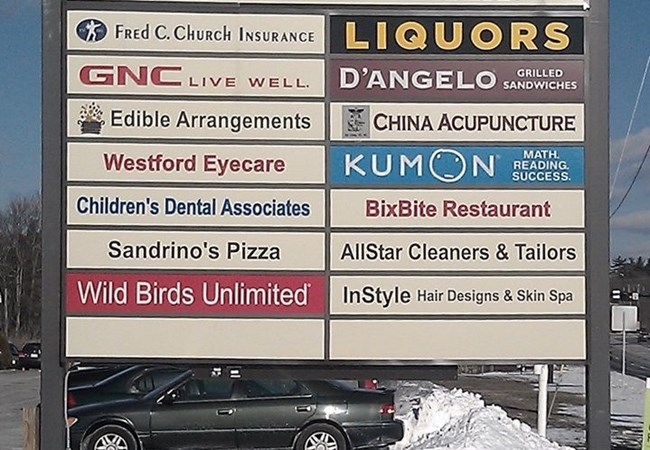 Directory Signs | LED & Electric Signs for Business | Westford, MA