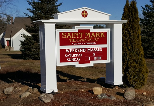 Post & Panel Signs | Churches & Religious Organizations | Londonderry, NH